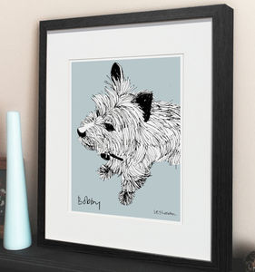 Personalised Pet Illustration - personalised