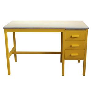 Meet Grace Hand Painted Vintage Mahogany Desk - furniture