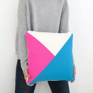 Technicolour Cushion - cushions