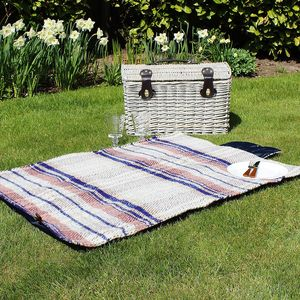 Recycled Wool Picnic Blanket - throws, blankets & fabric