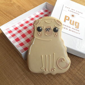 Pug Biscuit - biscuits