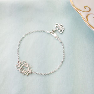 Personalised Monogram Bracelet