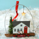 Personalised First Home Christmas Decoration