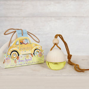 Car Air Freshener Two Fragrances - candles & candlesticks