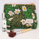 Personalised Daisy Floral Make Up Bag