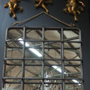Xl Industrial Bar And Rope Mirror