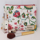 Personalised Make Up Bag Forties Floral