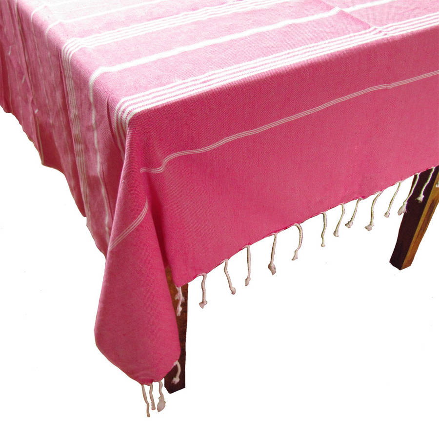 Hamam Table Cloth By Ville Et Campagne