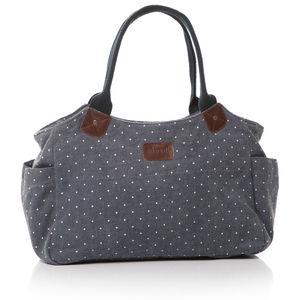 Dotty Canvas Day Bag
