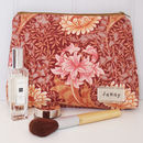 Make Up Bag William Morris Chrysanthemum