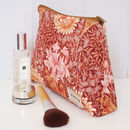 Make Up Bag William Morris Chrysanthemum
