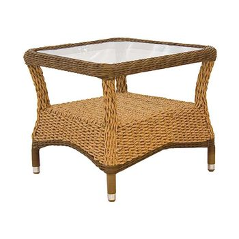 Hyacinth Rattan Side Table