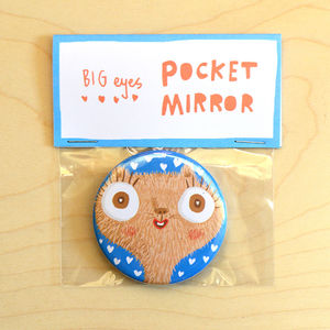 'Big Eyes' Pocket Mirror - compact mirrors