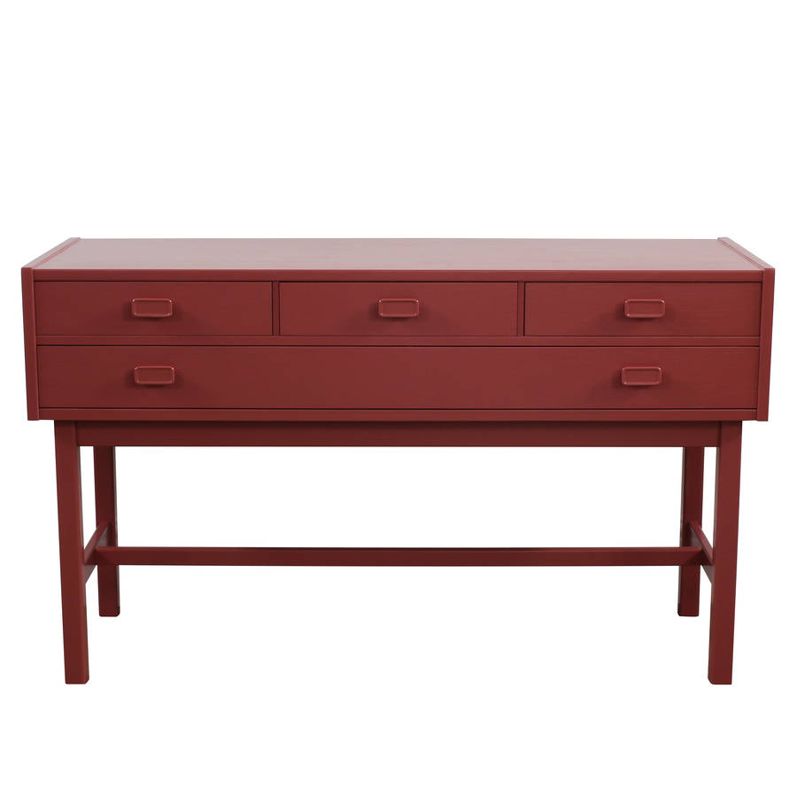 lois hand painted vintage sideboard by ruby rhino. Black Bedroom Furniture Sets. Home Design Ideas