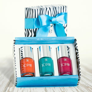 Personalised Nail Polish Gift Set - new in wedding styling