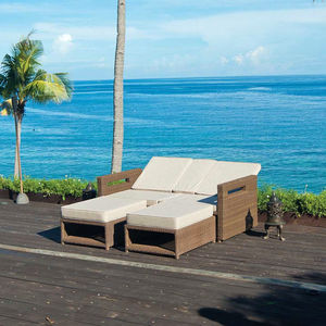 San Marino Lovers Reclining Sofa - garden furniture