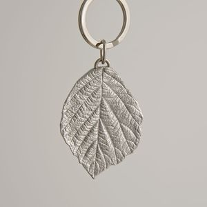 Leaf Key Ring