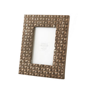 Brass Effect Picture Frame