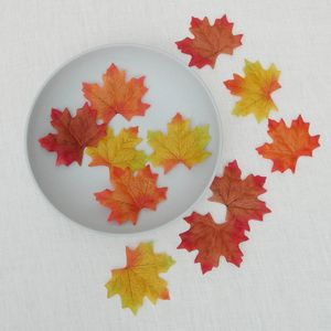 Set Of 11 Decorative Autumn Leaves - table decorations