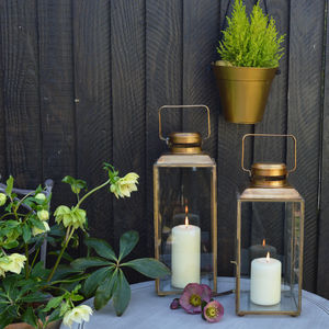 Brass Lanterns - lights & lanterns
