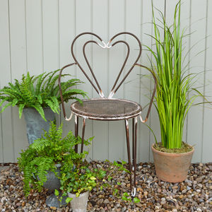 Heart Garden Chair - update your garden