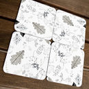 Hedgerow Medley Coasters