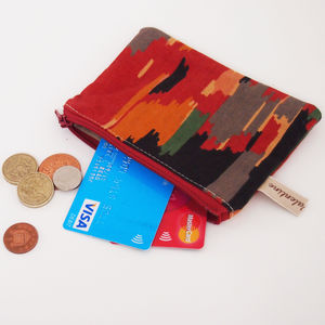 Aztec Print Coin Purse - women's sale