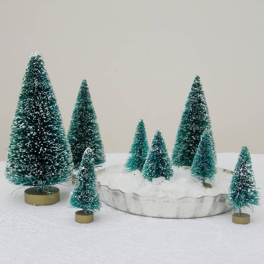 Original Set Of Eight Frosted