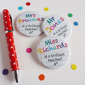 Brilliant Teacher Magnet - gifts for teachers