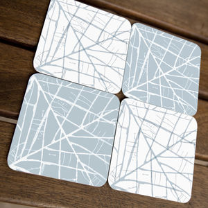 Leaf Lines Coasters - placemats & coasters