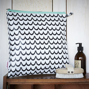 Monochrome Wash Bags