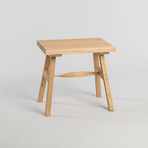 Tom Raffield Crib Stool - kitchen