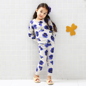 Pansies Children's Pyjama Set