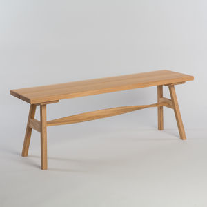 Tom Raffield Crib Bench Wooden Seat - furniture