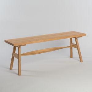 Tom Raffield Crib Bench Wooden Seat