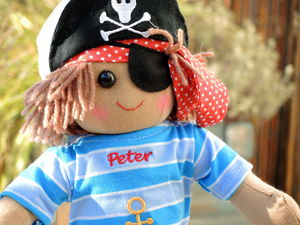 Personalised Boys' Rag Dolls - soft toys & dolls