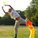 Fun socks- Playing frisbee with Prof. Brian Sox