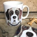 Saint Bernard Dog Mug