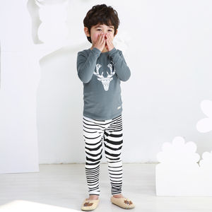 Sven The Antlers Children's Pyjama Set