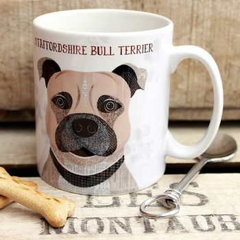 Staffordshire Bull Terrier Dog Mug