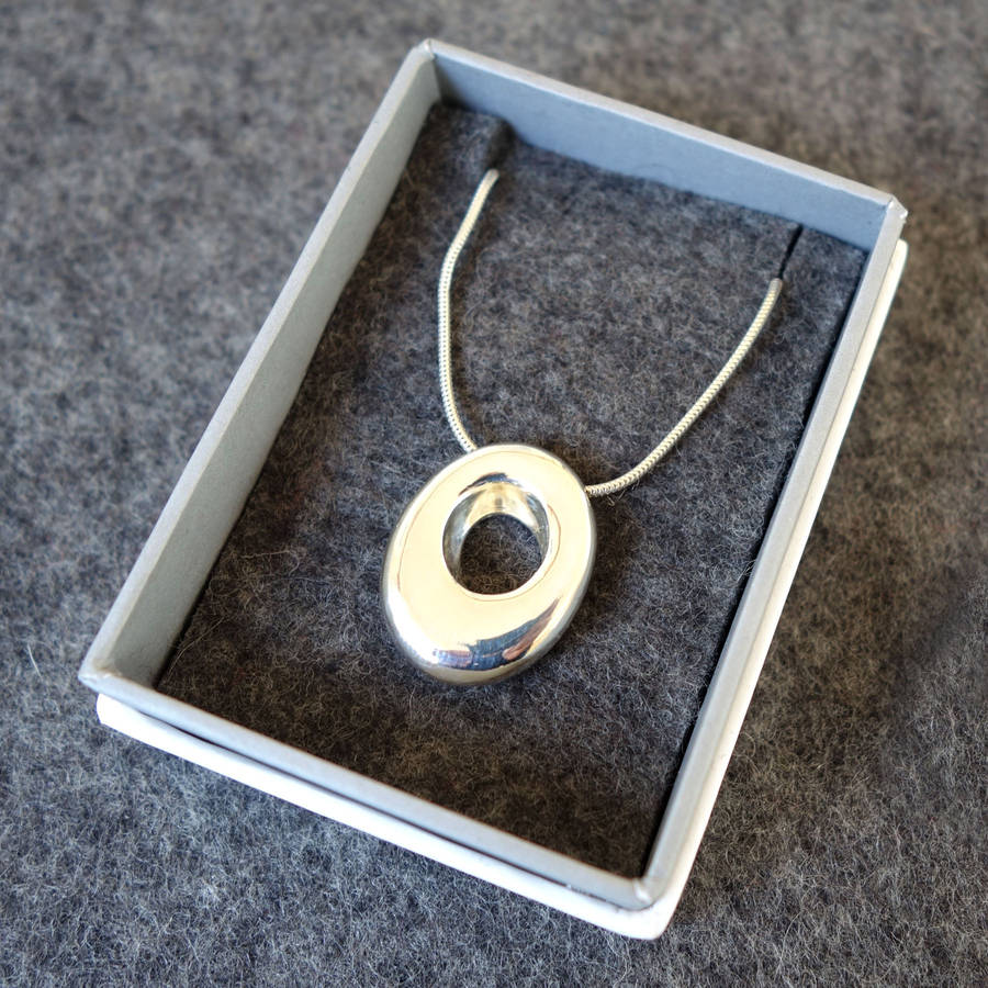 Silver Hag Stone Necklace By Goldborough Notonthehighstreet Com Shop unique single stone necklaces from the world's best jewelry dealers. silver hag stone necklace