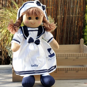 Personalised Sailor Girl Rag Doll