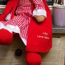 Personalised Little Red Riding Hood Rag Doll
