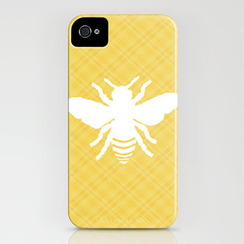 Honeybee On Stripy Phone Case
