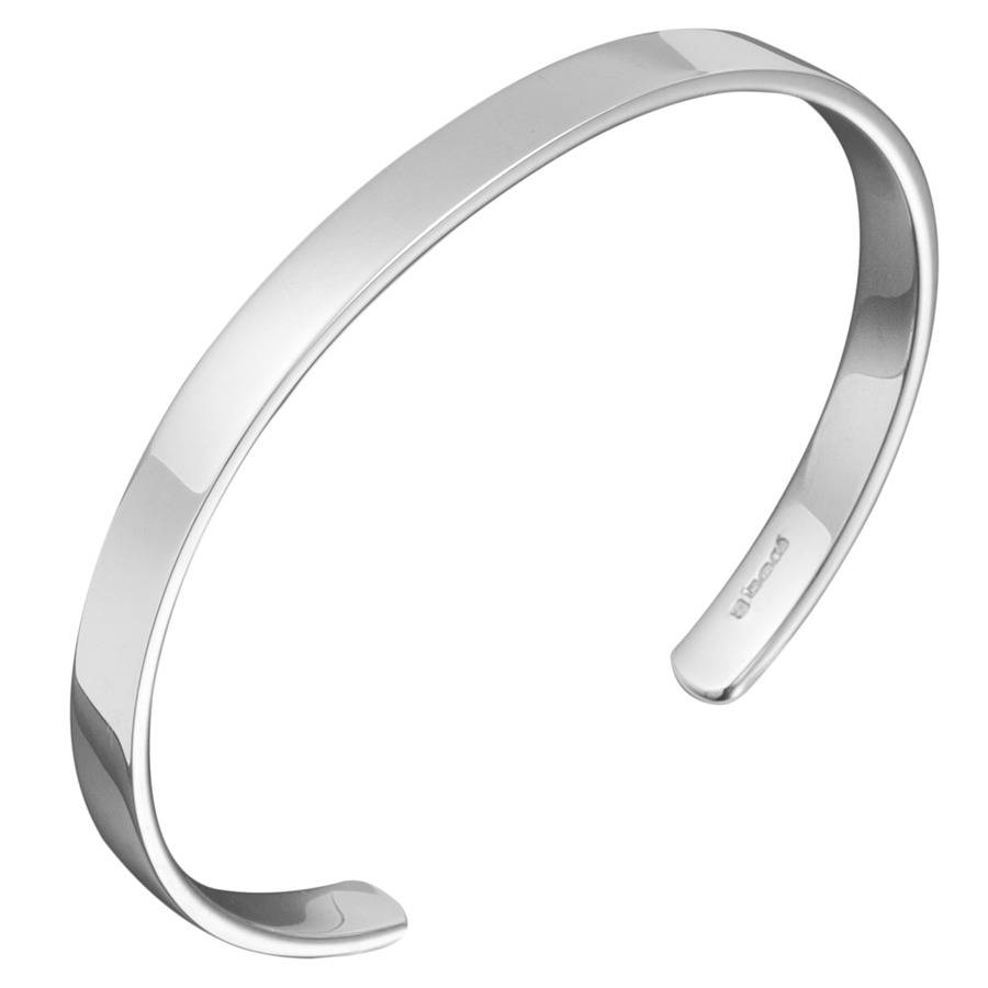 men bracelet s mens real silver curb sterling jewellery