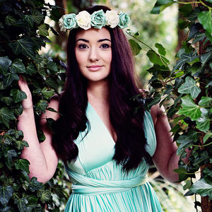Naomi Rose Flower Crown Headband