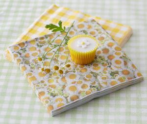 Daisy Paper Napkins - table linen