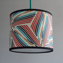Helicopter design as a hanging lampshade with diffuser