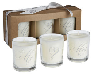 Wedding Day 'Mr And Mrs' Scented Candle Gift Set