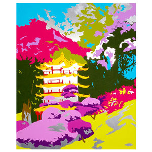 Eastern Delight Limited Edition Unframed Print - modern & abstract